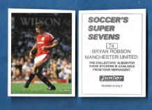 Manchester United Bryan Robson 74